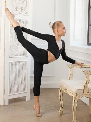 Болеро Arina Ballerina. Цвет: черный