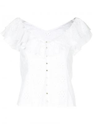 Блузка Need You Now Alice Mccall. Цвет: белый