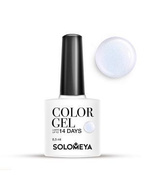 Гель-лак Color Gel Тон Lilac SCG122/Нежно-лиловый SOLOMEYA. Цвет: лиловый