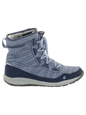 Ботинки PORTLAND BOOT W Jack Wolfskin. Цвет: темно-синий