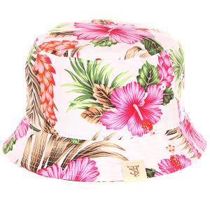 Панама  Utopia Bucket Hat Pink TrueSpin. Цвет: белый,мультиколор