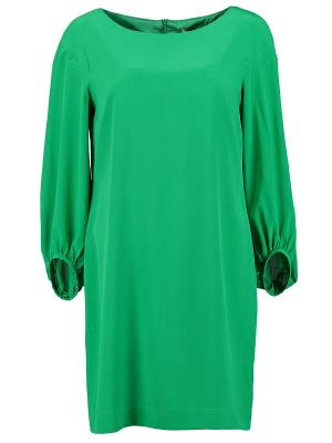 Платье KI6 Who are you. Цвет: зеленый