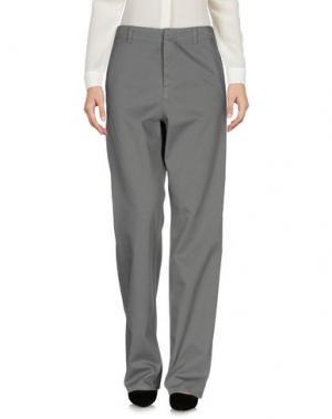 Повседневные брюки G750G. Цвет: серый