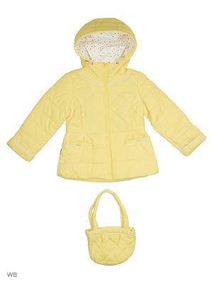 Куртка SNOWIMAGE. Цвет: желтый