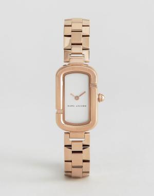 Marc Jacobs Розово-золотистые часы MJ3505. Цвет: золотой