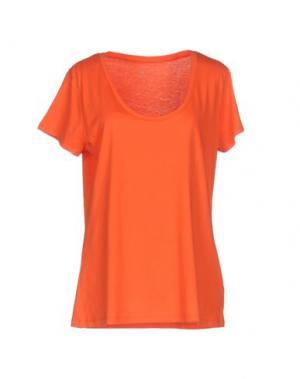 Футболка PAULIE. Цвет: оранжевый
