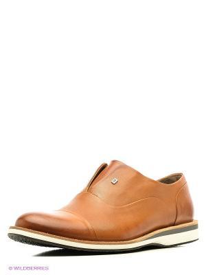 Туфли Goergo. Цвет: светло-коричневый
