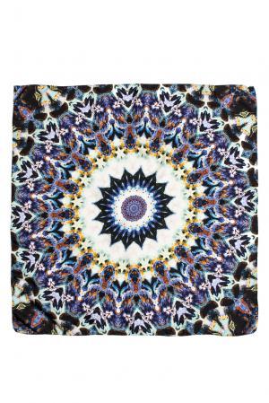 Шелковый платок CH05 Tatiana Kulagina. Цвет: разноцветный