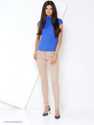 Блузка ELENA FEDEL. Цвет: синий