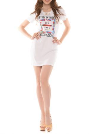 Платье Magnet. Цвет: белый
