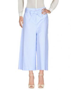 Повседневные брюки VICOLO. Цвет: лазурный