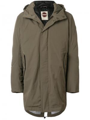 Куртка-пуховик с капюшоном Colmar. Цвет: зелёный