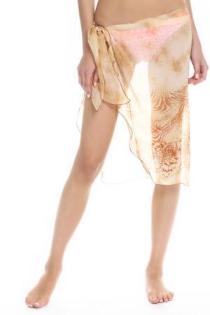 Парео-юбка ITALWERS. Цвет: бежевый
