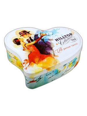 Чай Hilltop Манго 100 гр., сердце В ритме танго. Цвет: черный