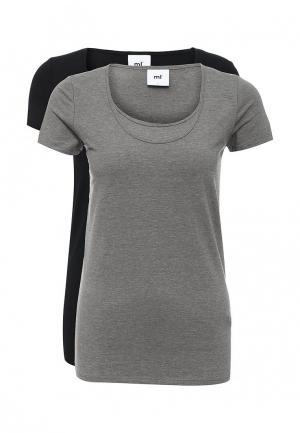 Комплект футболок 2 шт. Mamalicious. Цвет: разноцветный