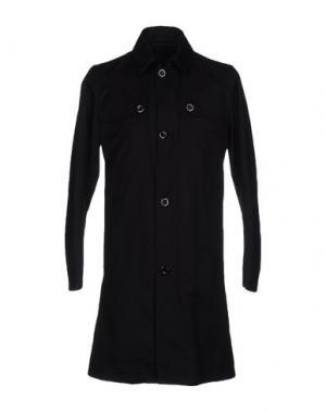 Легкое пальто TIGER OF SWEDEN. Цвет: черный