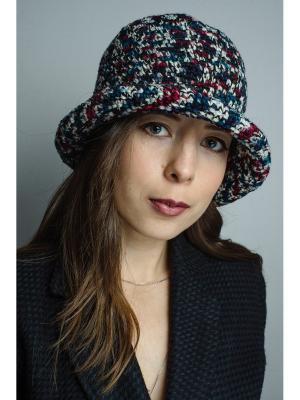 Шляпа Итальянская мозаика ТТ. Цвет: черный, бордовый, зеленый