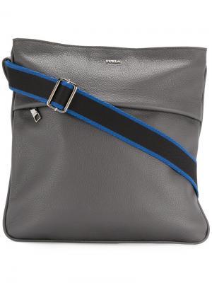 Сумка на плечо Furla. Цвет: серый
