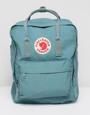 Fjallraven Зеленый рюкзак Kanken. Цвет: зеленый