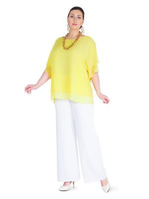 Брюки Darissa Fashion. Цвет: белый