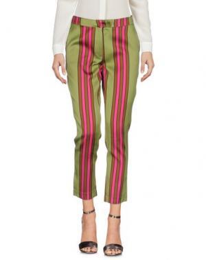 Повседневные брюки COLLECTION PRIVĒE?. Цвет: зеленый-милитари