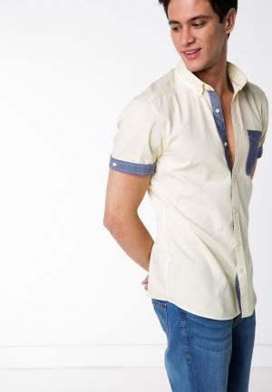 Рубашка DeFacto. Цвет: желтый