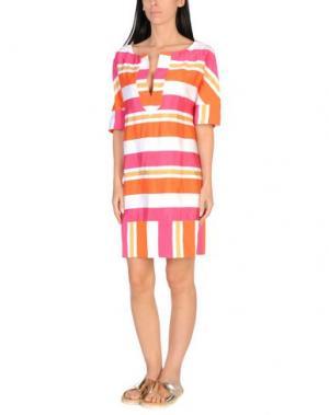 Пляжное платье TWIN-SET Simona Barbieri. Цвет: фуксия