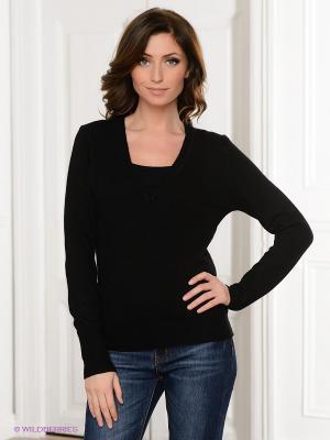 Пуловер Viaggio. Цвет: черный