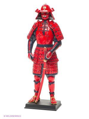 Статуэтка Феодал Санада Юкимура Veronese. Цвет: красный, синий, черный