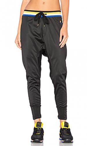 Свободные брюки strike out P.E Nation. Цвет: черный