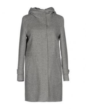 Пальто JAN MAYEN. Цвет: серый