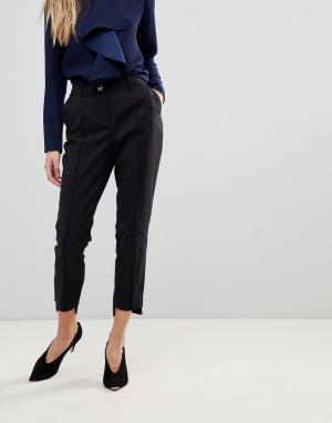 Ted Baker Облегающие укороченные брюки Anett. Цвет: черный