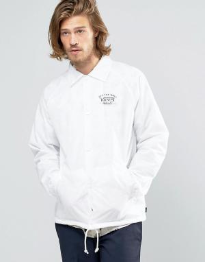 Vans Белая спортивная куртка Torrey V002MU07F. Цвет: белый