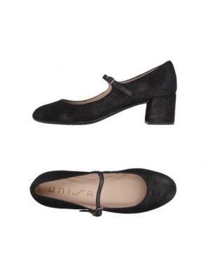 Туфли UNISA. Цвет: черный