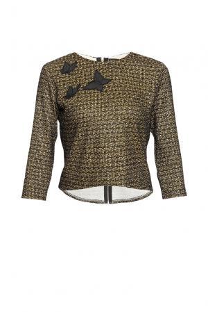 Блуза из вискозы 163067 Msw Atelier. Цвет: разноцветный