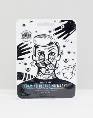 Barber Pro Очищающая пенная маска. Цвет: бесцветный