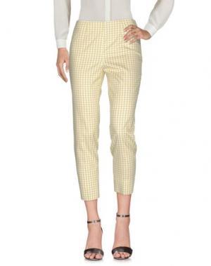 Повседневные брюки QL2 QUELLEDUE. Цвет: кислотно-зеленый