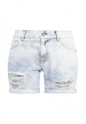 Шорты джинсовые Fornarina. Цвет: голубой