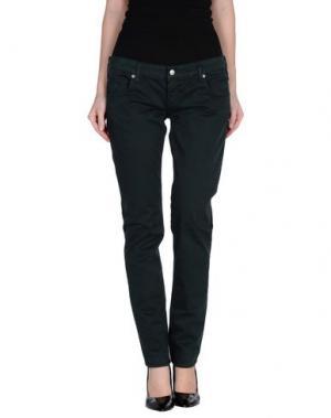 Повседневные брюки ZU+ELEMENTS. Цвет: темно-зеленый