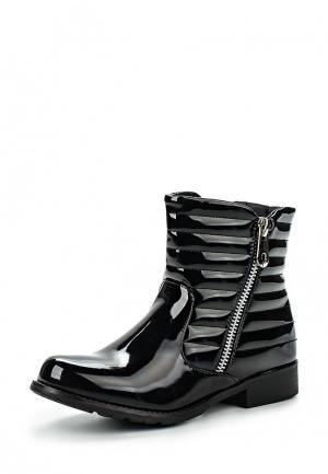 Полусапоги Style Shoes. Цвет: черный