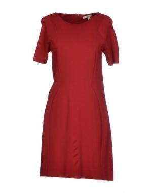 Короткое платье TWENTY8TWELVE. Цвет: кирпично-красный