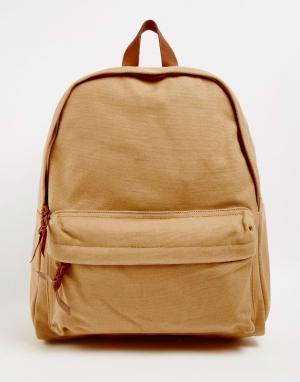 Buji Baja Холщовый рюкзак. Цвет: хаки