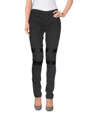 Повседневные брюки LOT 78. Цвет: свинцово-серый