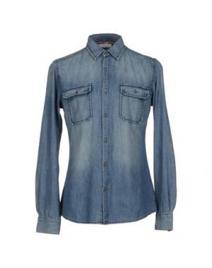 Джинсовая рубашка EVERY.DAY.COUNTS. Цвет: синий