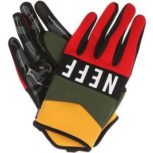 Перчатки сноубордические  Ripper Glove Rasta Neff. Цвет: красный,зеленый,желтый
