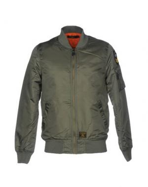 Куртка X-CAPE. Цвет: зеленый-милитари