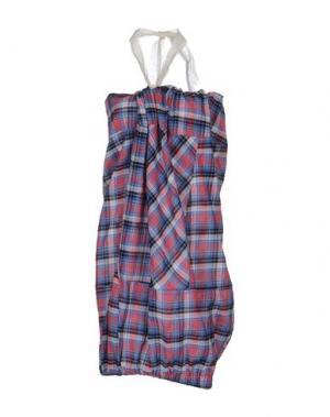 Короткое платье ROSAMUNDA. Цвет: коралловый