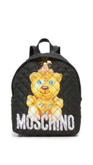 Рюкзак с принтом Moschino