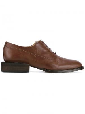 Туфли Les Chaussures Clown Jacquemus. Цвет: коричневый