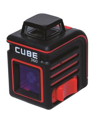 Построитель лазерных плоскостей ADA Cube 360 Basic Edition instruments. Цвет: черный, красный